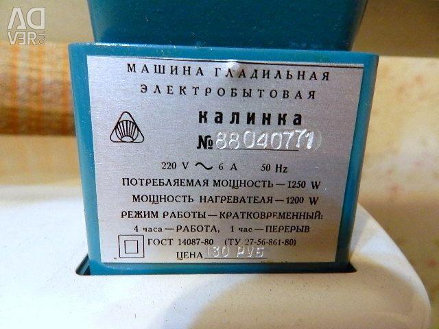 Ütü makinası Kalinka SSCB