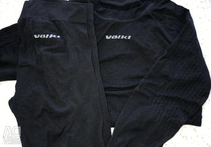 Thermal underwear for children