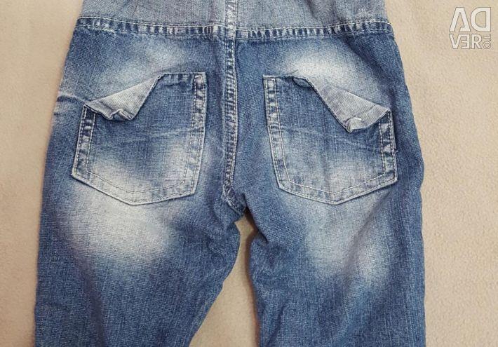 Дитячі джинсики теплі.
