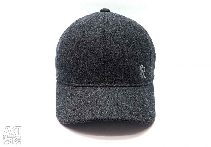Wool baseball cap Stefano Ricci (t. Gray)