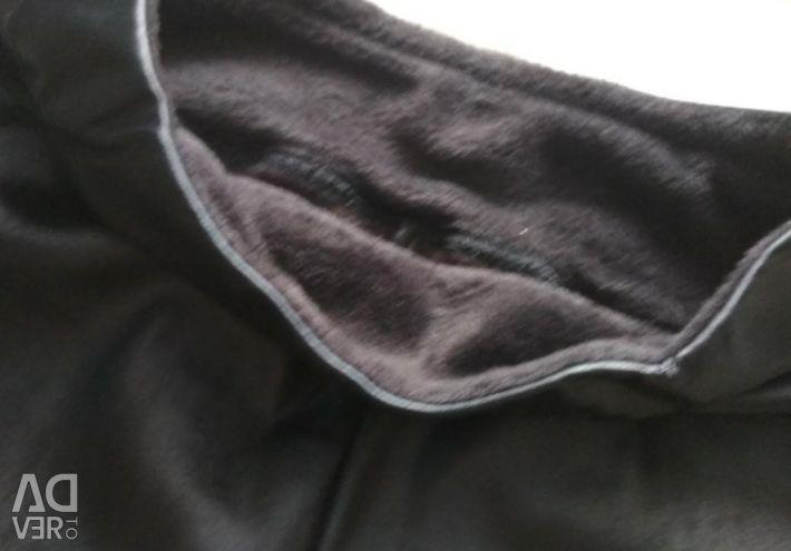 Warm tights under the skin