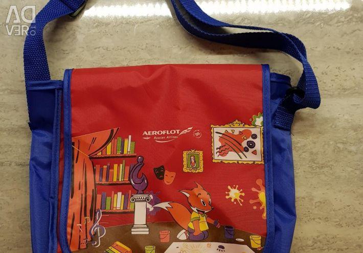 Children's bag. Aeroflot