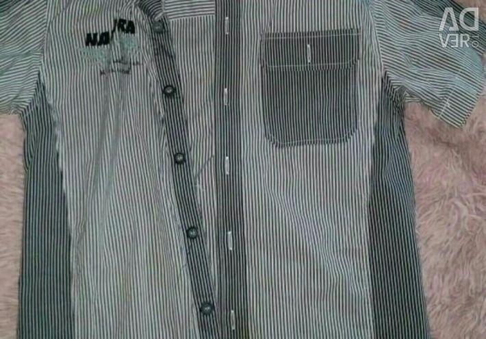 Пакет рубашек на мальчика