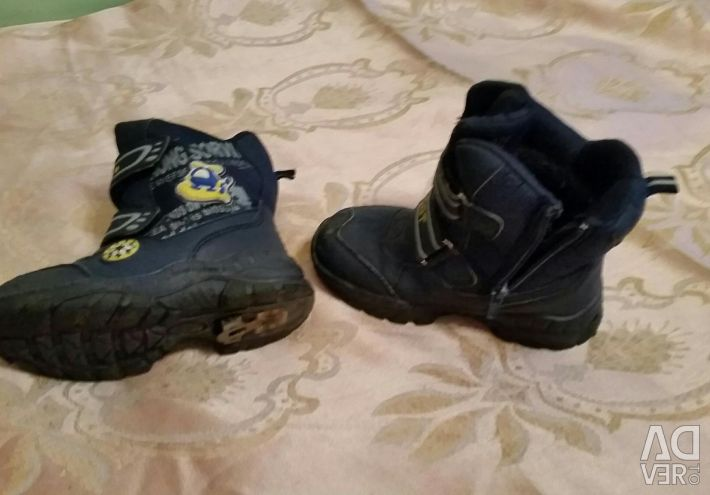 Winter boots used