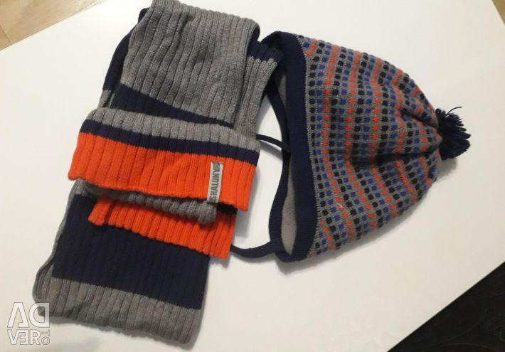 Hat scarf