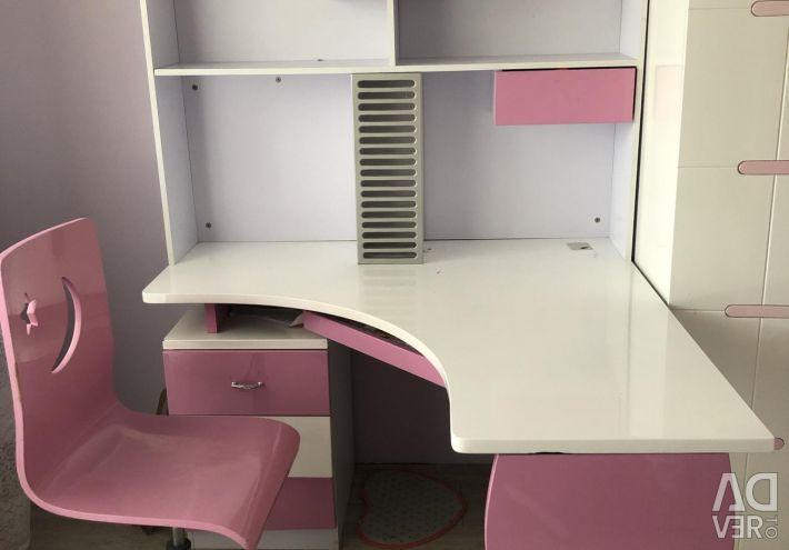 Набор мебели для девочки