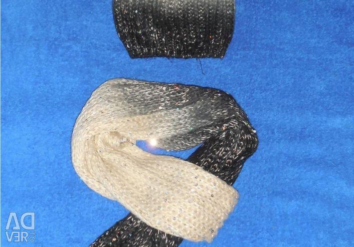 Комплект шапка+шарф george asda(англия)