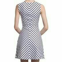 The dress is female, elegant