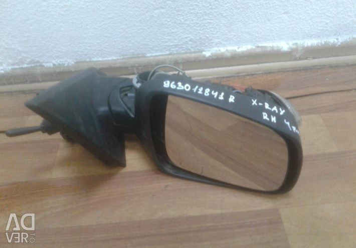 Right mirror (mech.) Lada X-ray (15>) oem 963012841r (without cover) (skl-3)