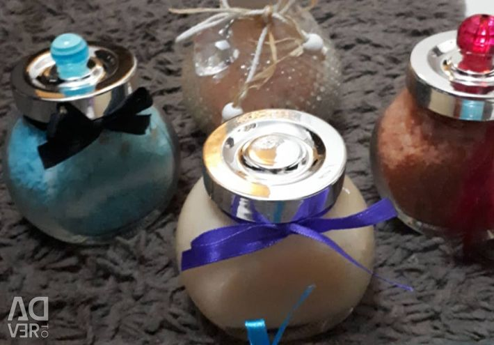 Bath salts with essential oils !!