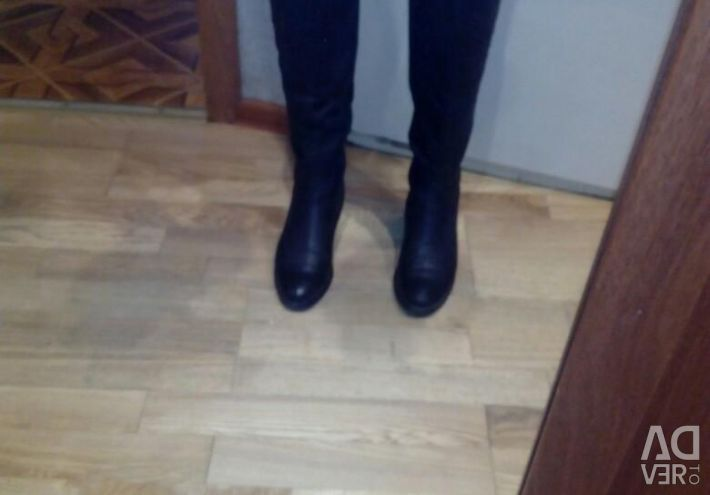 Eurozyme knee high boots