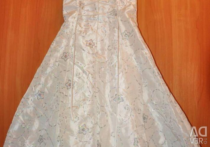 New Year's dress with a bolero 116cm