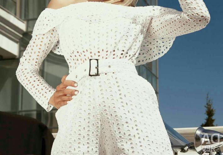Women's overalls flounces