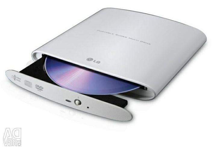External optical drive LG GP08NU20