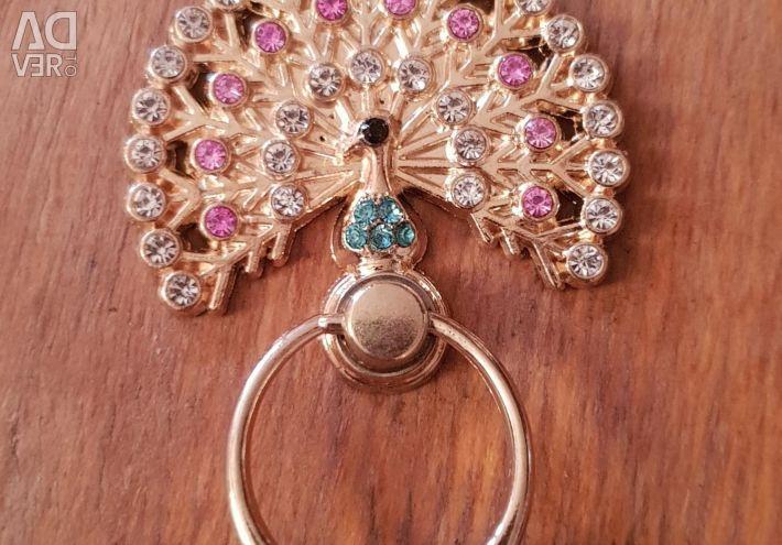 Держатель-кольцо, подставка для телефона