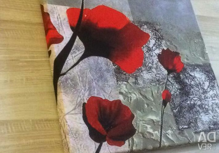 Modular pattern on fabric