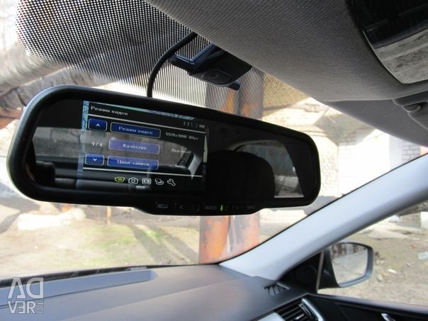 Video Recorder Mirror DVR Full HD with rear camera