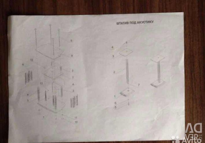 Ένα περίγραμμα κάτω από το σπίτι θέατρο και στήλες κάτω από τις στήλες