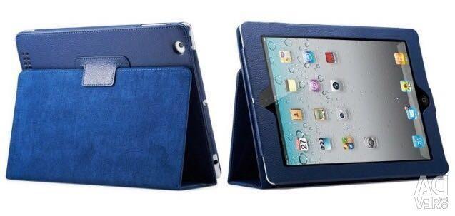 Geantă din piele pentru 1 iPad 2/3/4 sub formă de carte