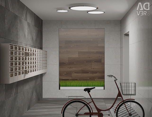 Apartment, 2 rooms, 73.3 m²