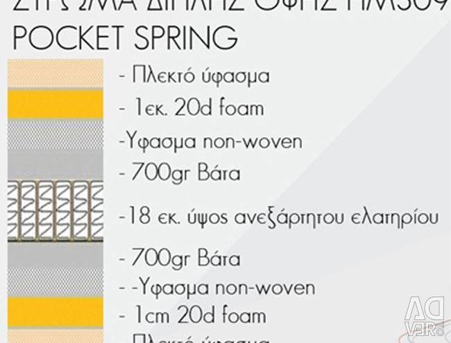 Pocket Spring mattress 160x200