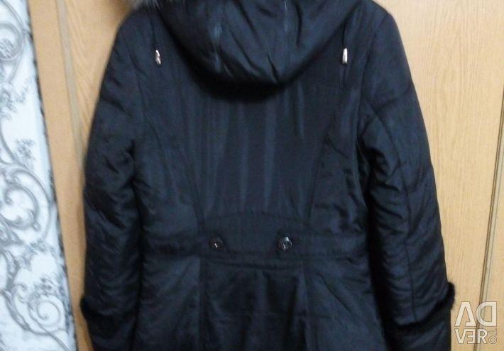 Extra long jacket.