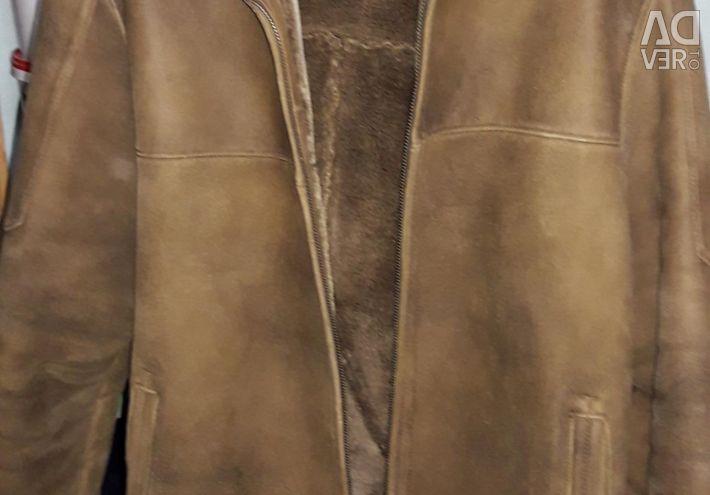 Μπουφάν-πρόβατο για άνδρες 52-54 μεγέθη.