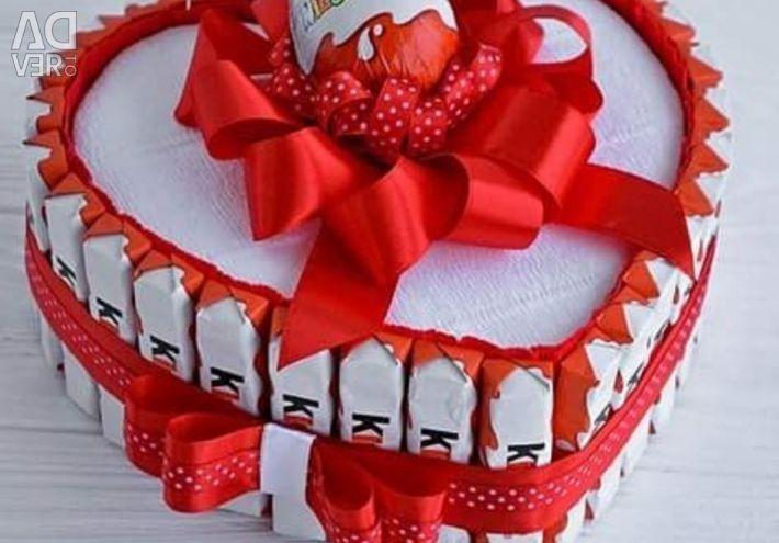 Buchete dulci, prăjituri, cutii dulci