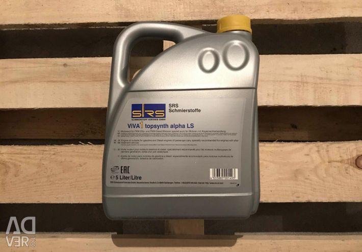 Petrol motifi th SRS ViVA 1 topsynth alfa LS 5W40 5L