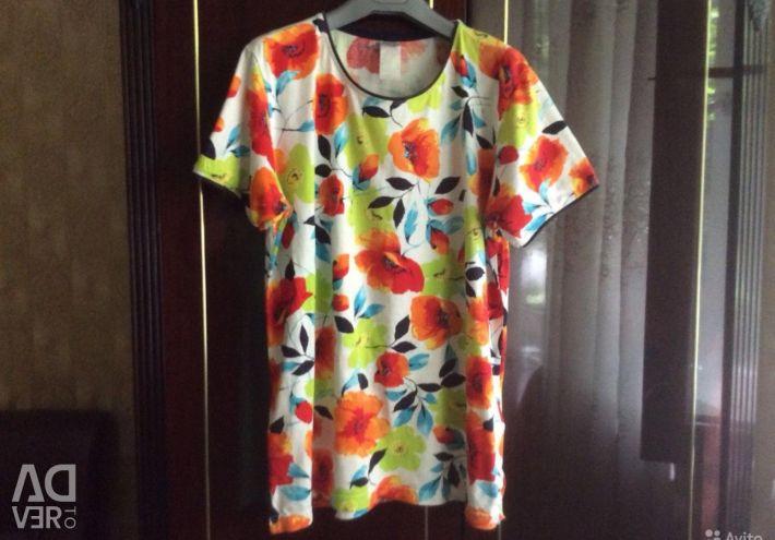T-shirt θηλυκό 48, 50 φορές, βαμβάκι