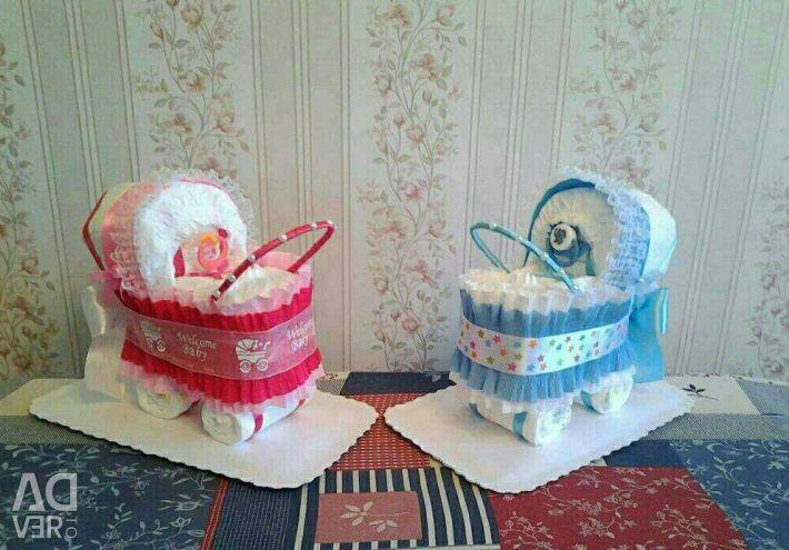 Diaper strollers