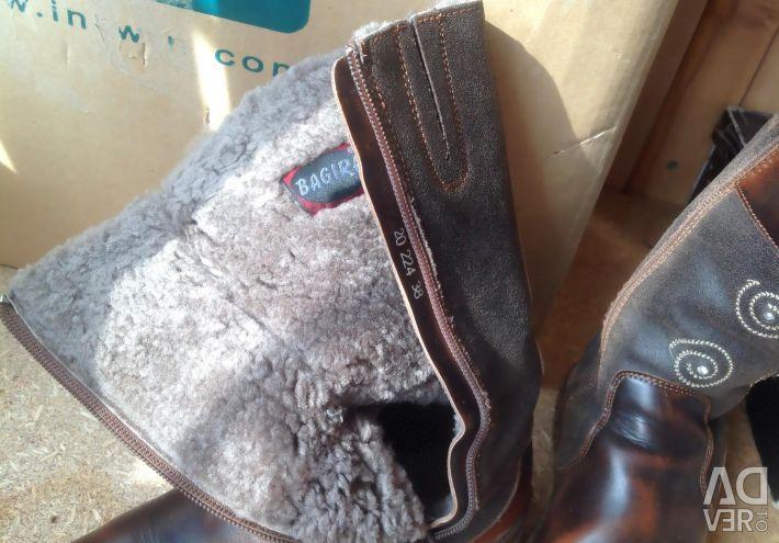 Μπότες r.37,5 χειμώνας φυσικό