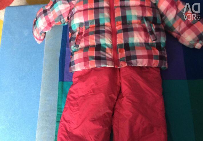 Winter overalls.