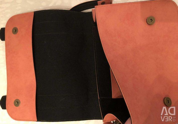 Pink envelope bag