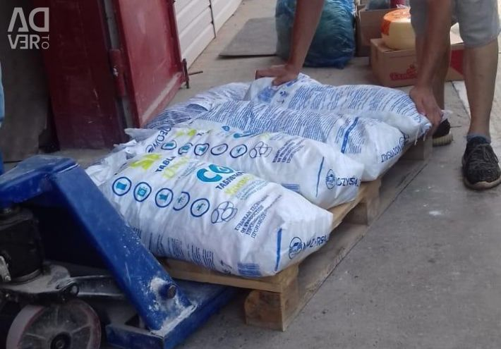 Salt for water purification delivery