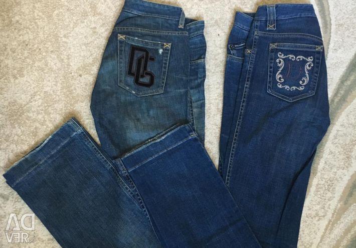 Dolce & Gabbana Original jeans 2 pairs