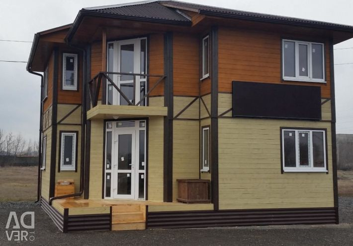 Каркасно-щитові будинки.