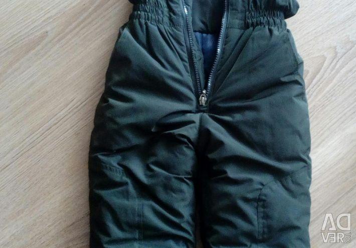 Теплые комбенизоны и штаны