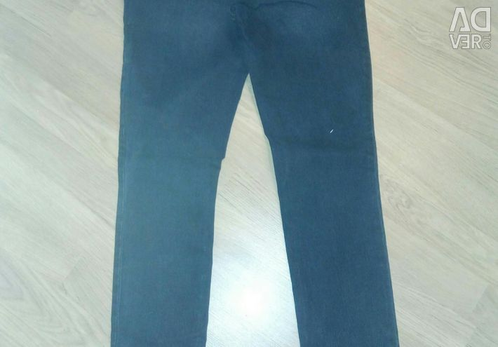 Jeans with an elastic band