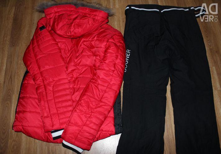 Yeni kayak takım elbise -30