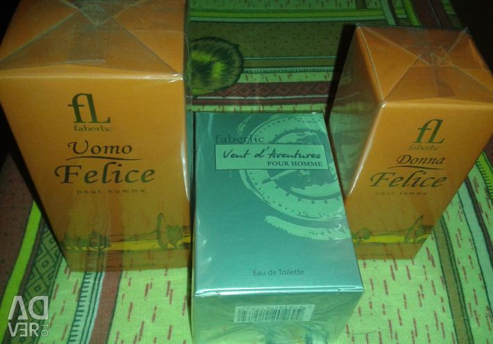 Perfume from Faberlic (France)