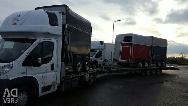 Μεταφορέας άμαξας / ρυμουλκούμενο. FRG.b / samp.200.200