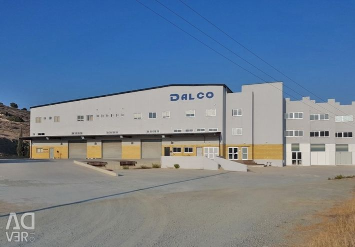 Industrial Warehouse in Monagroulli, Limassol