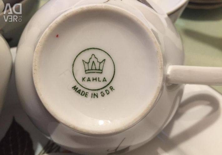 Service ceai porțelan nou