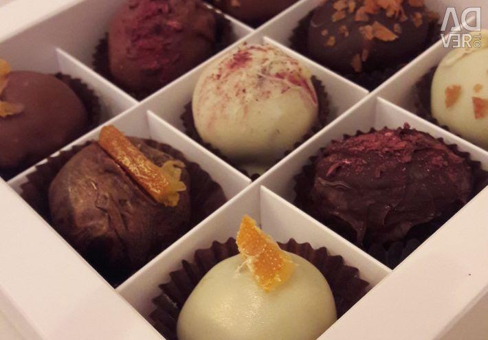 Belçika Çikolatası El Yapımı Şeker