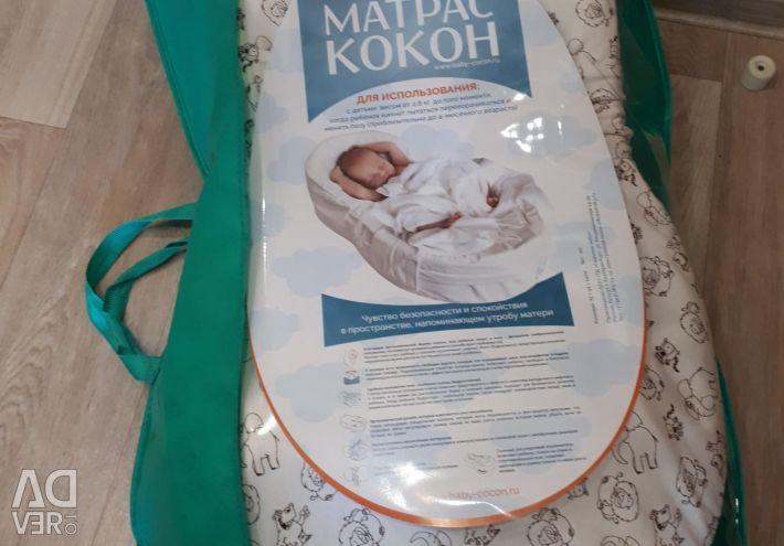 Новий матрац кокон для новонароджених 7 небо