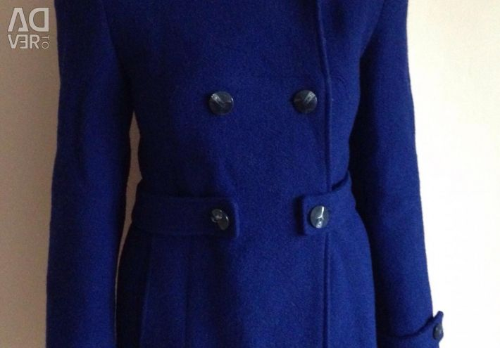 Coat blue / dark autumn