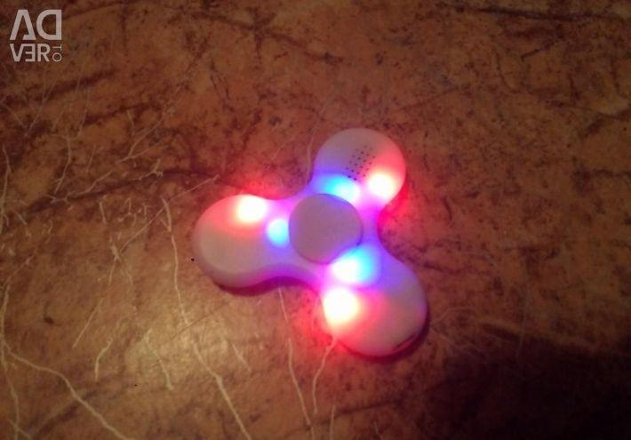 Spinner cu bluetooth și iluminare din spate