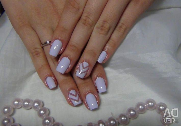 Manicure, pedicure, gel polish