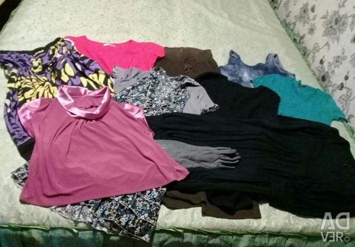 Women's clothes with parquet